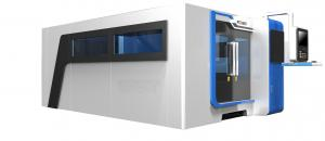 China Sheet Metal Cutting Fiber Laser Cutting Machine With Laser Power 1000W on sale