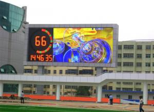 China High Definition P6 LED Video Walls RGB SMD 3535 For School Message Dispaly on sale