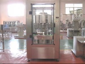China Wine Filling Line Juice Bottling Machine 0.2 Mpa - 0.4 Mpa Water Pressure on sale