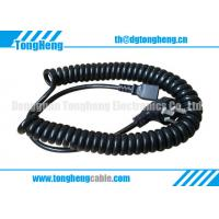 China Factory Manufactured Flex Spiral Power Cable Cord
