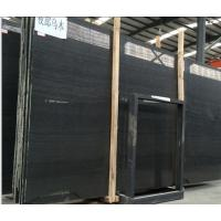 China Perfect Quality Timber Black Marble,Chinese Black Marble,Slab&Tile,Wood Marble Wall Tile,Flooring on sale