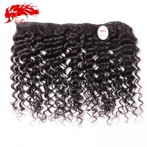 China Ali Queen  brazilian Virgin Deep Wave hair 10Inch,No Shedding No Tangle on sale