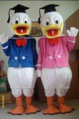 Quality handmade adult Donald Duck disney cartoon costumes with plush for sale