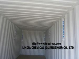 China TOPDRY Container Desiccant Package Instead Of Silica Gel on sale
