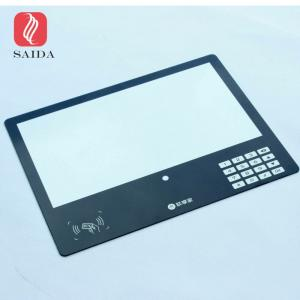 China OEM front glass touch panel for Capacitance Touch Panel Access Door , Home Security Touch Screen on sale
