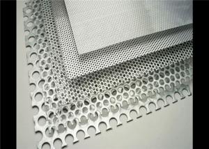 China Filter Mesh And Decorative Perforated Metal Mesh Punched Hole 1.5-3m Length on sale