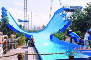 cool children wave safe outside amusement park water slides for spas
