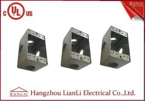 China Rectangular IMC Conduit Fittings Waterproof Terminal Box with PVC Coated on sale