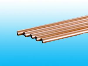 China High Intensity Double Wall Bundy Tube 8 * 1mm / Welded Copper Tube supplier