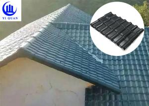 China Durable UV Resistant Protected Plastic ASA Synthetic Resin Roofing Sheet Tile on sale