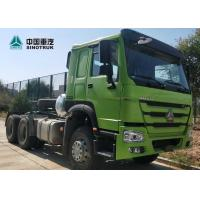 China HOWO Drawing Head Tractor Truck LHD 6x4 371HP Single Berth Cabin 10wheels on sale