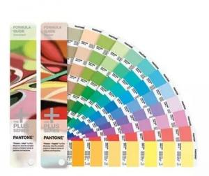 China Solid Coated Pantone Color Cards , Paper Material Pantone Color Chart GP1601N on sale