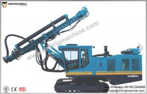 China Mining / Construction Dth Drilling Rig With Drilling Holes 90 - 255mm on sale