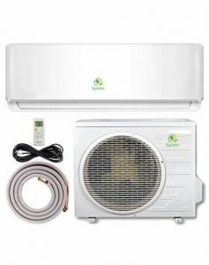 China Small Window Mount Split Unit Air Conditioner Cooling And Heating Function on sale