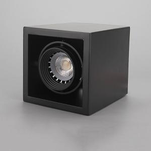 China Square GU10 lamp holder spot light interior GU10 base spot light for hotel lobby on sale