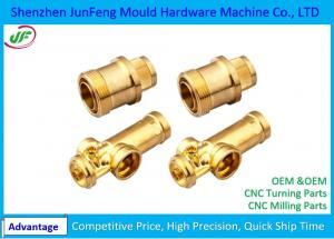 China Brass Cnc Turned Parts Lathe Turning Machine Mechanical Parts on sale