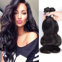 China Body Wave Peruvian Human Hair Weave Human Hair Extensions 3 Bundles 100G/Pcs on sale