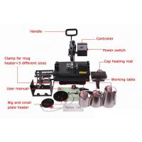 110V / 220V Digital Flat T shirt Heat Transfer Printing Press Machine STC-SD09