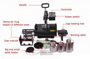China 110V / machine plate STC-SD09 de presse typographique de transfert de chaleur de T-shirt de 220V Digital on sale