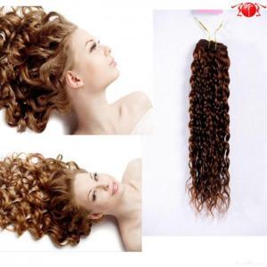 China Brazilian Kinky Curly Remy Hair Weave on sale