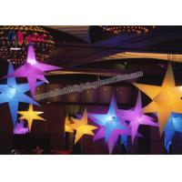 Birthday Party Decorations Inflatable LED Star Air Custom Printed Balloons