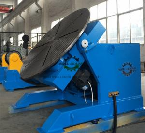 China Tube Rotary Welding Positioner Table With Wireless Remote Control on sale