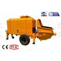 China Portable Small Concrete Pump Diesel Driven Environmental Flexible Movement on sale