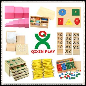 China Wooden montessori materials toy in china / montessori wooden puzzles wholesale on sale