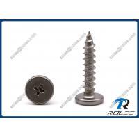 18-8/410 Stainless Steel Philips Pancake Head Sheet Metal Panel Clip Screws