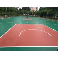 China Water Proof Surface Acrylic Floor Paint For Sports Flooring Non Toxic on sale