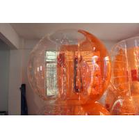 Orange Inflatable Bubble Soccer Human Loopy Ball CE/UL Approved