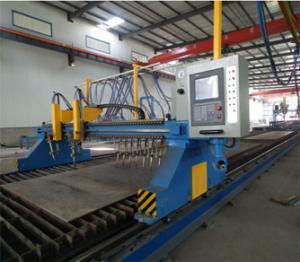 China H-Beam CNC Flame/ Straight Cutting Machine on sale