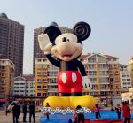 11m Giant Inflatable Mickey Model for Square Display and Business Show