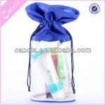 Poche transparente de PVC pour l'emballage cosmétique