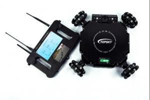 China Omnidirectional Mobile Reconnaissance Robot With High - Definition Wide - Angle Camera on sale