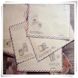 China Hot Sale Kraft Paper Decoration Envelope on sale