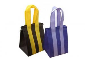 China Portable Non Woven Cloth Bags , Waterproof Non Woven Printed Bags Custom Design on sale