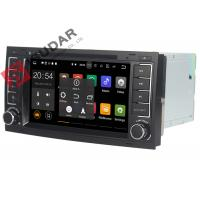 China DAB+ Tuner Vw Touareg Dvd Player , Volkswagen Gps Stereo With Bluetooth Heat Dissipation on sale