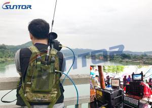 China 5W Manpack COFDM Transmitter RF Long Range Video Transmitter 37dBm on sale