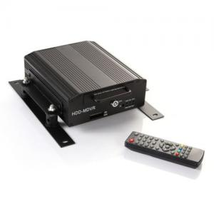China Remote Control HDD Mobile DVR 4 Camera MDVR Recorder Real Time Online Monitor on sale