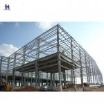 high rise Q345 steel structure workshop layout / workshop design