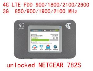 China Unlocked Sierra AirCard 782S Mobile Hotspot 4G LTE FDD 150Mbps Advanced 4g wifi router on sale