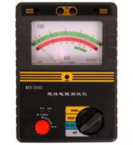 China High Performance Megger High Voltage Tester Insulation Test Equipment 500V 1000V on sale