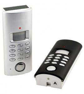 China PSTN Auto-dial Security Alarm with Remote Control on sale