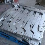 Turret Punching Bending Stainless Steel Fabrication General Metal Components