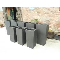 Factory sales light weight waterproof durable outdoor large fiberglass planter