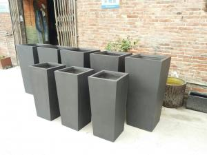 China Factory sales light weight waterproof durable outdoor cement planter on sale