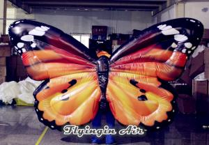 China Inflatable Simulation Butterfly Wings Costumes for Wedding Stage Decoration on sale