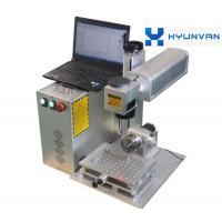 3D Color Printed Fiber Laser Marking Machine For Plastic Tag Key Chains