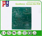 6 layers of immersion circuit board FR4 communication electronic pcb2.06MM